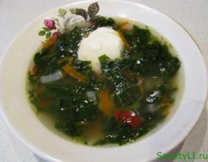 Рецепт крапивных щей