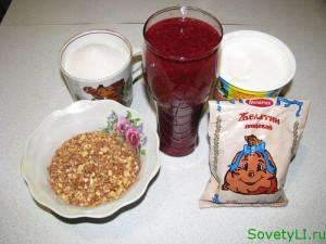 продукты для малинового десерта
