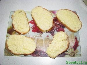 готовим сырные гренки