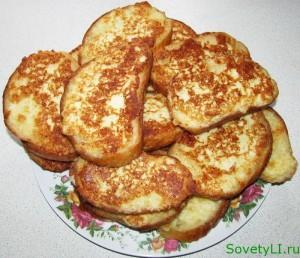 """Бутерброды """"до отлипа""""- сырные гренки"""