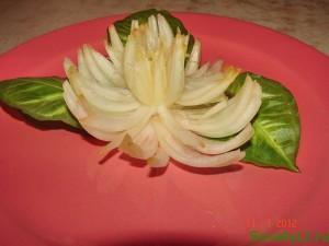 Хризантема - пошаговое фото