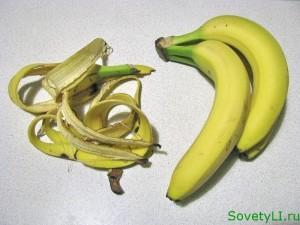Удобрение из бананов
