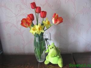 Как сохранить цветы в букете