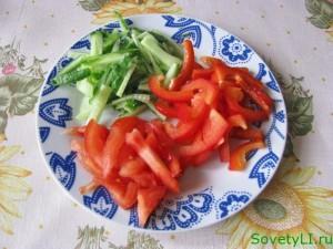 Салат Витаминный с фунчезой