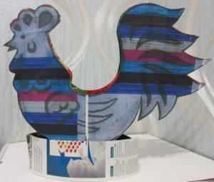 Петушок из конфет - пошаговое фото