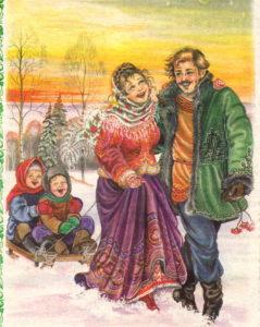 Веселая Масленица, четверг-Разгул