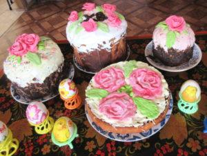 Заговоры на Пасхальные куличи и крашеные яйца