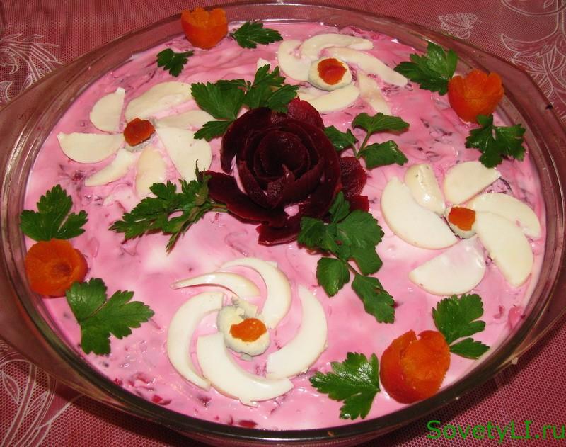Салат сельдь под шубой, рецепт и приготовление 4
