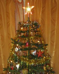 Звезда на новогодней ёлке